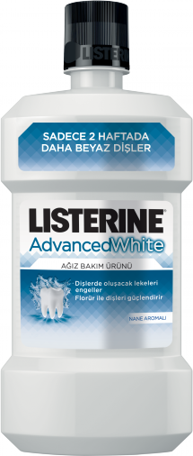 LISTERINE® ADVANCED WHITE